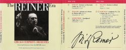 Chicago Symphony Orchestra - From The Archives, Vol.1: The Reiner Era, 2-CD set (1986)