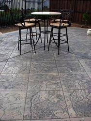 18''x18'' Roman slate tile pattern