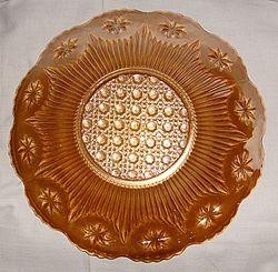 Stars and Cane plate, european?