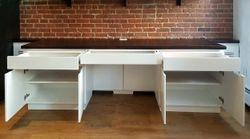 Radiator Enclosure Desk