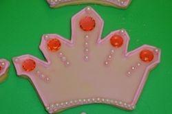 4 inch sugar jewel/pearl princess crown $8 each