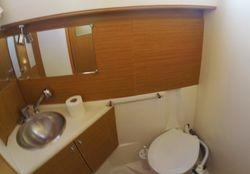 Left WC & shower