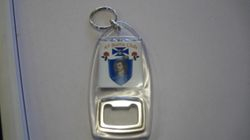 Key Ring And Bottle Opener