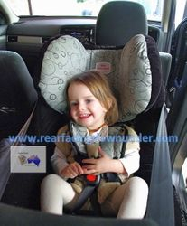 21 months old Safe-n-Sound Meridian AHR Rear-Facing
