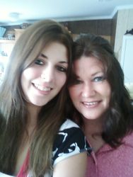 DAUGHTER JAZARE WITH HER MOM, CULLEEN