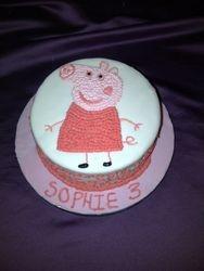 Peppa Pig cake Gluten Free