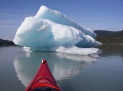 Icebergs near Juneau, AK