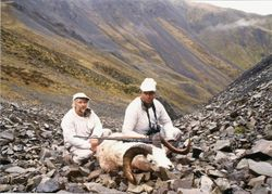 Doug Rice and his Ram