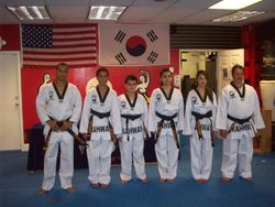 black belt class of 2011
