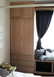 Wardrobe & radiator cover bench