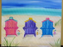 Beach Chairs & Cocktails