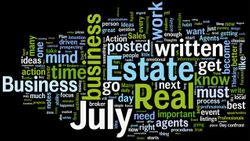 July 2012 Thoughts of the Day Word CLoud