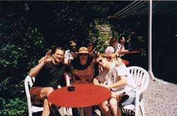 With Friends in Arosa, Switzerland, 1999