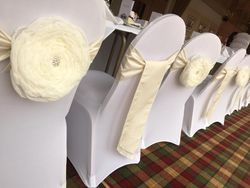 Duck Bay Hotel , Chair Cover, Chair Sash