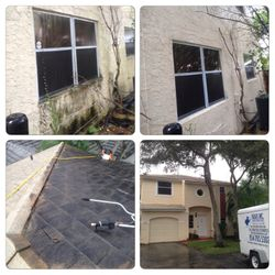 House pressure cleaning
