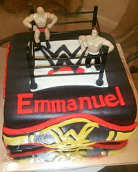 Wresting Cake