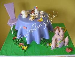 CAKE 43A2 -Tea Party Cake