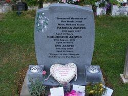 Honed granite memorial