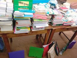 Book Donations arrive