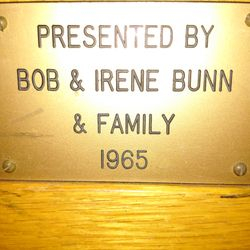 Bob & Irene Bunn and Family 1965