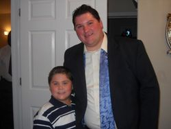 Bro. Sterner and Noah