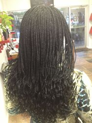 Synthetic Micro Braids