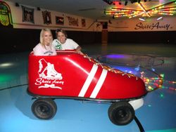 SkateAway's Skate Car!!!