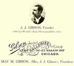J. J. Gibson Art Galleries of Chicago, Illinois