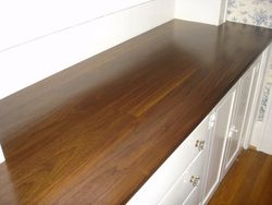 after new walnut top