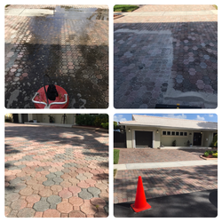Pressure Cleaning, Re-sand and Sealing
