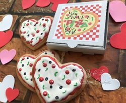 Valentine's Day Custom Cookies
