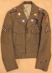 Uniform #2, 1 Inf. Div., 18 Inf.Rgt.: