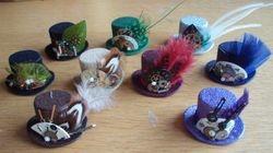 Assorted mini top hats
