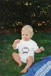 Dylan on his 1st Birthday