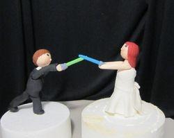 Star wars Bride & Groom
