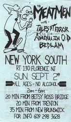 1984-09-02 New York South, Florence, NJ