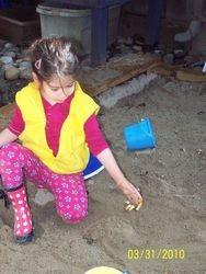 Treasure hunt in Sand Box