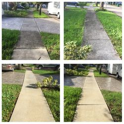 Sidewalk Pressure washing