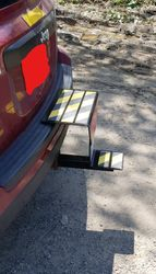 Step Trailer Hitch