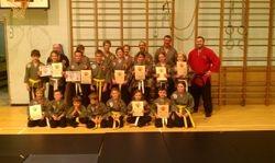 Cameron's School Of Martial Arts Ullapool Grading - September 2012