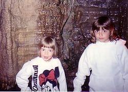 Sarah and Katie