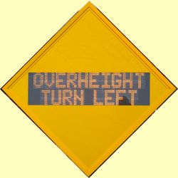 Overheight Warning
