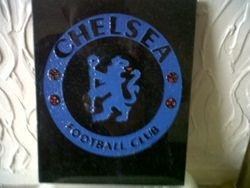 Chelsea fc hand drawn