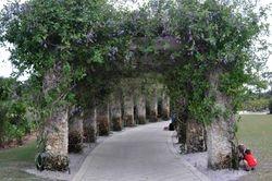 Naples Botanical Garden Arbor 1