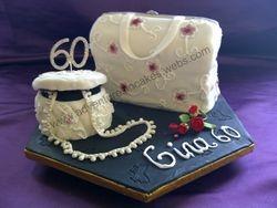 Handbag & trinket box cake