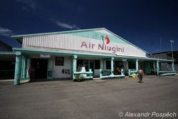Airport in Madang