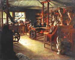 The workshop of James Watt.