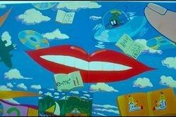 Chermside Library Mural.