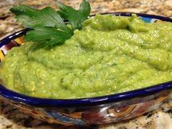 Green Salsa with Poblanos, Tomatillos & Avocado