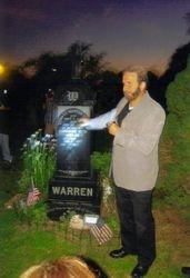 Tony tells the story of Ed Warren
